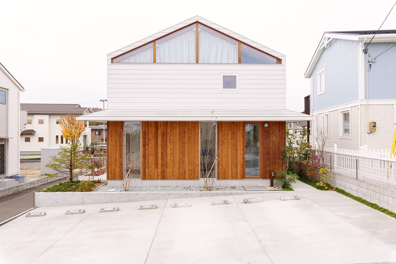 愛島のハウス