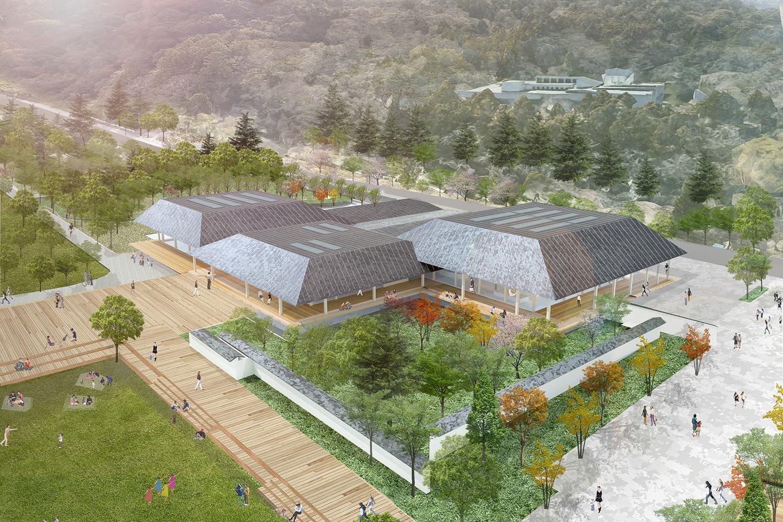 青葉山公園(仮称)公園センター